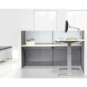 Everywhere Height-Adjustable Table by Herman Miller