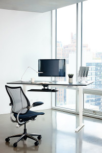 Float Height-Adjustable Table by  Humanscale