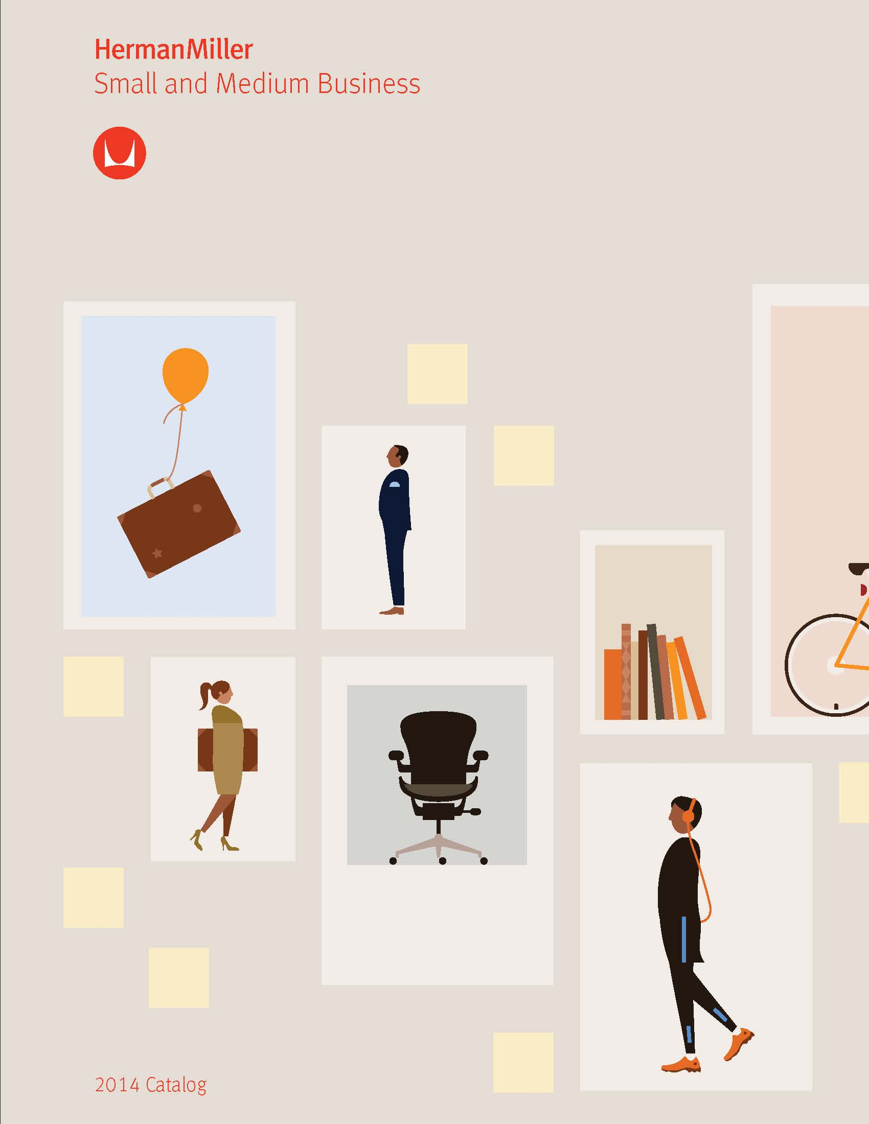 the new herman miller small and medium business catalog. Black Bedroom Furniture Sets. Home Design Ideas